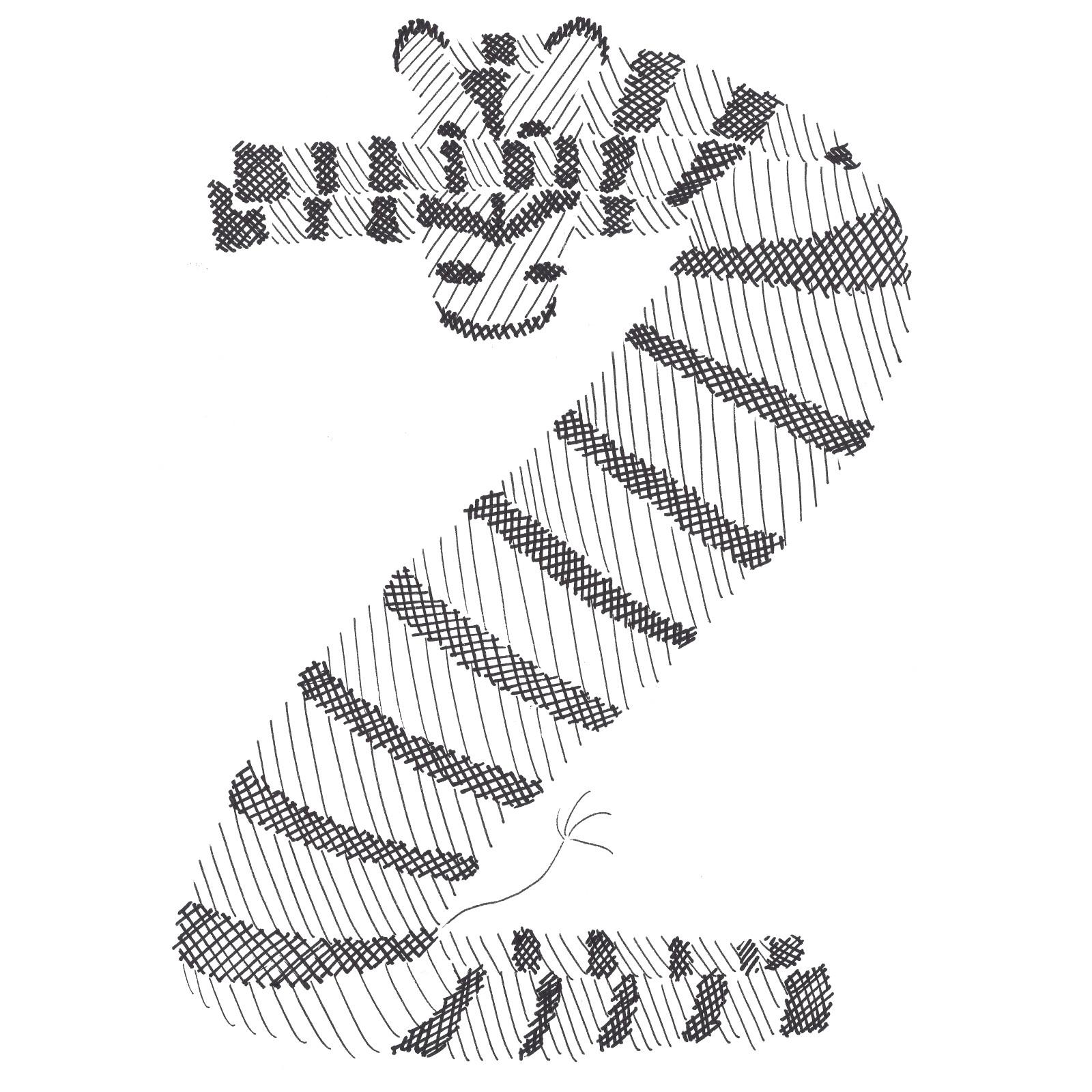 ZebraBuchstabe Kopie